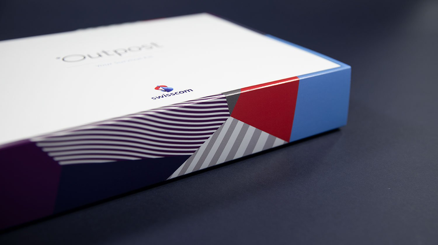 Swisscom Outpost box design