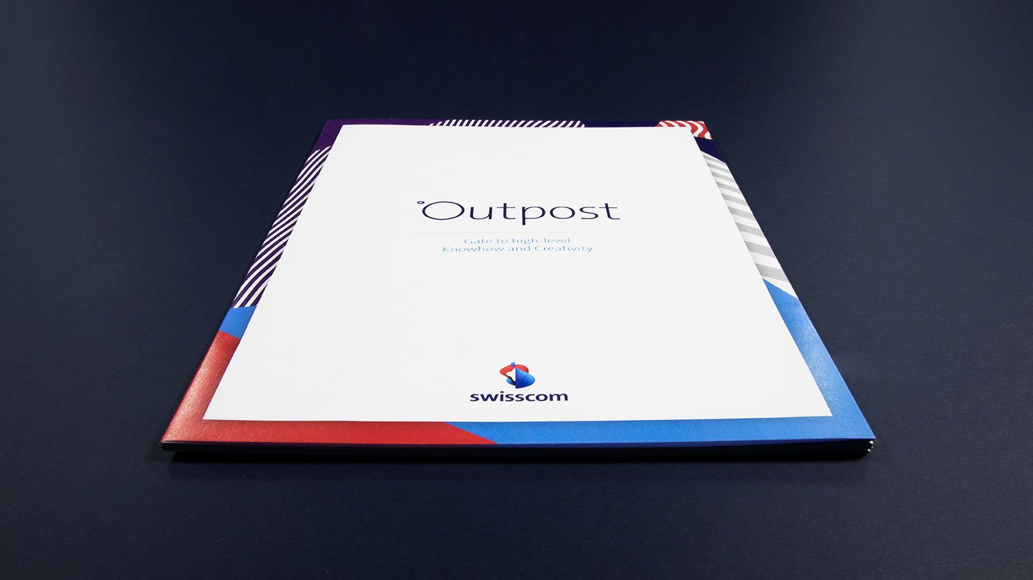Swisscom Outpost Cover design